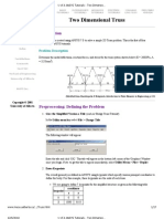 U of A ANSYS Tutorials - Two Dimensional Truss