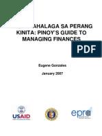 Pagpapahalaga Sa Perang Kinita Pinoy's Guide to Managing Finances