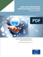 Ghidul Drepturilor Omului Pentru Utilizatorii de Internet Rom