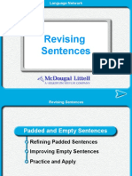 Sentence Revising
