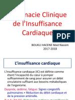 Pharmacie Clinique de l'Insuffisance Cardiaque 2017 2018