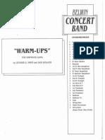 Belwin Warm-Ups - Partitura_Belwin Warm-Ups - Tuba