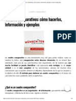 Cuadros comparativos_ cómo hacerlos, información y ejemplos _ Cuadro Comparativo