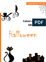 Cahier d Activites Halloween Ce1 Ce2
