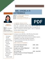 CarlAngelaGutierrez.resume.