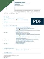 Currículo do Sistema de Currículos Lattes (André Henrique da Cunha)