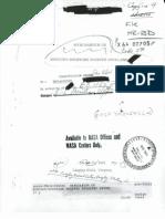 Memorandum on Mercury-Redstone Booster Problems