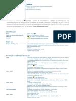 Currículo do Sistema de Currículos Lattes (Marilei Osinski)
