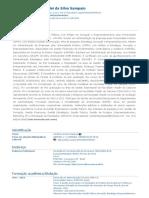 Currículo do Sistema de Currículos Lattes (Vanderlei da Silva Sampaio)