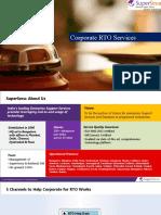 Corporate RTO Services PPT