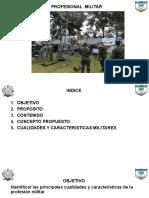Profesional Militar Presentacion