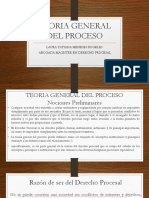 1.TEORIA GENERAL DEL PROCESO clase I