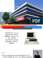 A Evolução Lenovo