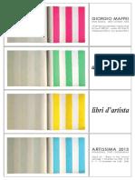 Giorgio Maffei - Artissima 2013
