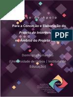 Texto de Apoio#Para a Conceção e Elaboração do Projeto de Intervenção no Âmbito do Projeto MAIA