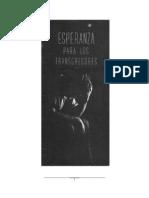 ESPERANZA PARALOS TRANSGRESORES