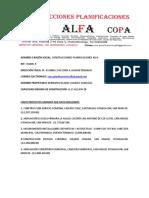 CONSTRUCTORA ALFA