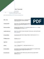 MDchat Healthcare Twitter Transcript for February 22, 2011
