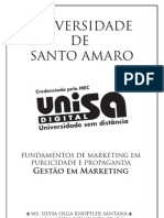 Apostila FUNDAMENTOS DE MARKETING