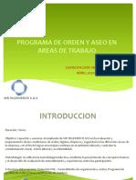 CAPACITACION-PROGRAMA ORDEN Y ASEO