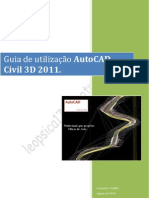 004 - Guia de utiliza€ ¦ção do AutoCAD CIVIL 3D 2011