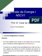 1.a Aula_N5CV1_Circuitos Magnéticos