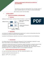 c7 Acides Et Bases Faibles Couples Acide Base Constante d Acidite Et Classification Des Couples Acide Base. (1)