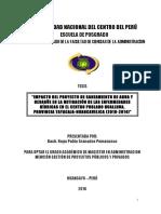 UNCP Granados Pomasunco