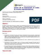 INSHT-NTP Evaluacion de La Exposicion Al Ruido