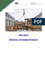 Manual de Manutenção.