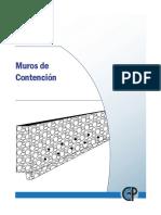 Muros de Contencion Especificaciones Tecnicas
