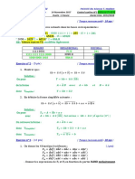 Solution Control Contenu 01 module AO univ Tlemcen promo 2017-2018