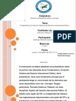 Tarea 1 de Derecho Internacional Publico y Privado.