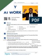 20201123 COMPREHENSION ACTIVITIES  (1) HAPPY AT WORK