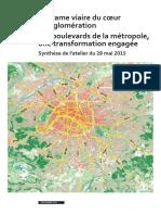 Trame Viaire Boulevards Metropole Atelier Mai 2015