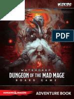 Waterdeep Dungeon o Livro de Aventuras Em Ingles 128127