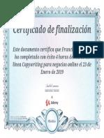 Certificado UC 9XPZ7HA8