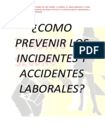 CARTILLA_COMO PREVENIR LOS INCIDENTES Y ACCIDENTES LABORALES