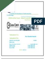 Cherat-Cement-Company Final Report 2