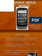 GOOGLE NEXUS MOBILE.ppt1