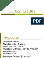 Carbon Credits PPT