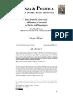 Diego Melegari Foucault Hobbes