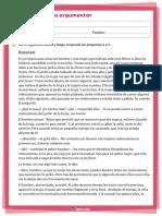 TALLER EVALUATIVO DE COMPRENSIÓN DE LECTURA PARA CUARTO
