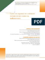 Ccusto de liquidez do contrato futuro de boi gordo da bm&fbovespa
