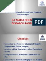 Introdução à Educação Integral e Ao Programa Ensino