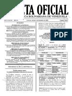 Gaceta Oficial N° 42.022