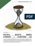 Polskie miasta wobec starości i starzenia się