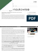 Otwarta publikacja naukowa jako metoda interwencji społecznej. Studium przypadku