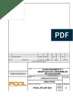 3.POOL-PO-AP-003 Rev.0 Almacenamiento y Manipuleo de Consumibles