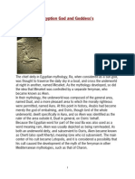 Egyption God and Goddess